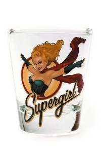 TOON TUMBLERS DC BOMBSHELLS SUPERGIRL MINI GLASS $5.99