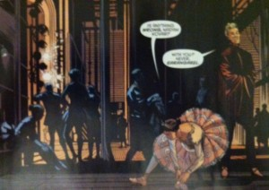 Batman and Robin Eternal 7 Back Stage Ballet