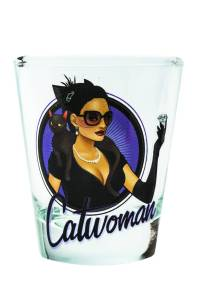 TOON TUMBLERS DC BOMBSHELLS CATWOMAN MINI GLASS $5.99