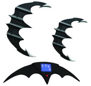 BATMAN & BATMAN RETURNS BATARANG REP SET $499.95