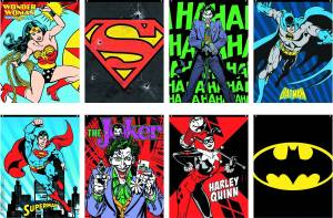 DC HEROES BANNERS