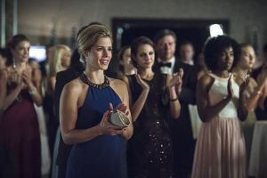 "Arrow -- ""Brotherhood"" -- Image AR407B_207b.jpg -- Pictured: Emily Bett Rickards as Felicity Smoak -- Photo: Cate Cameron/The CW -- © 2015 The CW Network, LLC. All Rights Reserved."