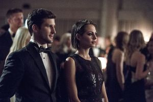 "Arrow -- ""Brotherhood"" -- Image AR407B_087b.jpg -- Pictured (L-R): Parker Young as Alex Davis and Willa Holland as Thea Queen -- Photo: Cate Cameron/The CW -- © 2015 The CW Network, LLC. All Rights Reserved."