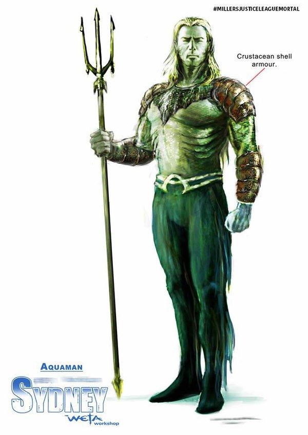 Aquaman concept art