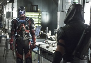 """Arrow -- """"Lost Souls"""" -- Image AR406A_0251b.jpg -- Pictured: Brandon Routh as Atom -- Photo: Cate Cameron/ The CW -- © 2015 The CW Network, LLC. All Rights Reserved."""