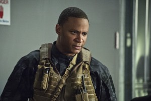 """Arrow -- """"Lost Souls"""" -- Image AR406A_0169b.jpg -- Pictured: David Ramsey as John Diggle -- Photo: Cate Cameron/ The CW -- © 2015 The CW Network, LLC. All Rights Reserved."""