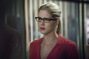 "Arrow -- ""Haunted"" -- Image AR404A_0044b.jpg -- Pictured: Emily Bett Rickards as Felicity Smoak -- Photo: Katie Yu/ The CW -- © 2015 The CW Network, LLC. All Rights Reserved."