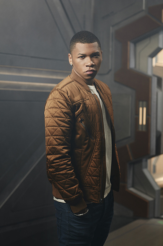 "Franz Drameh as Jefferson ""Jax"" Jackson/Firestorm"