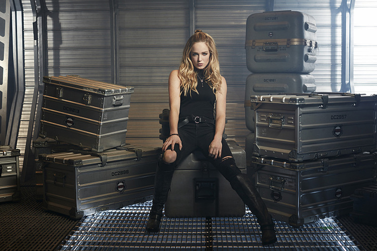Caity Lotz as Sara Lance/White Canary