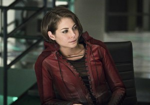 """Arrow -- """"A.W.O.L."""" -- Image AR411A_0299b.jpg -- Pictured: Willa Holland as Thea Queen -- Photo: Liane Hentscher/ The CW -- © 2016 The CW Network, LLC. All Rights Reserved."""