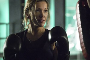 """Arrow -- """"A.W.O.L."""" -- Image AR411A_0062b.jpg -- Pictured: Katie Cassidy as Laurel Lance -- Photo: Liane Hentscher/ The CW -- © 2016 The CW Network, LLC. All Rights Reserved."""