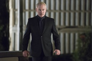 "Arrow -- ""Blood Debts"" -- Image AR410a_0121b.jpg -- Pictured: Neal McDonough as Damien Darhk -- Photo: Katie Yu/ The CW -- © 2015 The CW Network, LLC. All Rights Reserved."