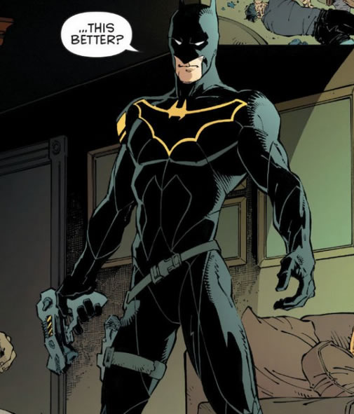 James Gordon - Secondary Batsuit