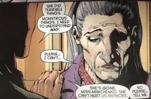 Batman and Robin Eternal 21 Mother's first child