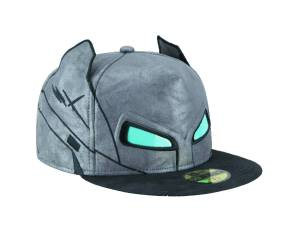 BATMAN V SUPERMAN ARMOR BATMAN HELMET FITTED CAP