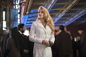 "Arrow -- ""Code of Silence"" -- Image AR414b_0173b.jpg -- Pictured:  Charlotte Ross as Donna Smoak -- Photo: Katie Yu/ The CW -- © 2016 The CW Network, LLC. All Rights Reserved."