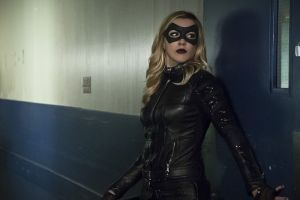 """Arrow -- """"Code of Silence"""" -- Image AR414A_0056b.jpg -- Pictured:  Katie Cassidy as Laurel Lance/Black Canary -- Photo: Katie Yu/ The CW -- © 2016 The CW Network, LLC. All Rights Reserved."""