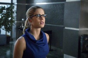 "Arrow -- ""Unchained"" -- Image AR412B_0543b.jpg -- Pictured: Emily Bett Rickards as Felicity Smoak -- Photo: Liane Hentscher/ The CW -- © 2016 The CW Network, LLC. All Rights Reserved."