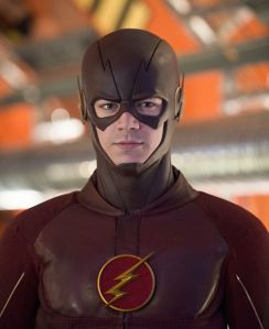 """The Flash -- """"Flash Back"""" -- Image: FLA217b_0271b.jpg -- Pictured: Grant Gustin as The Flash -- Photo: Diyah Pera/The CW -- © 2016 The CW Network, LLC. All rights reserved."""