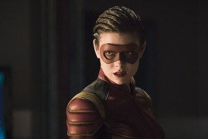 "The Flash -- ""Trajectory"" -- Image FLA216b_0172b -- Pictured: Allison Paige as Trajectory -- Photo: Katie Yu/The CW -- © 2016 The CW Network, LLC. All rights reserved."