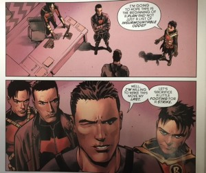 Batman and Robin Eternal 22 re invigorated