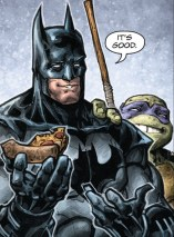 Dc Comics News Batman TMNT Pizza