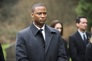 """Arrow -- """"Canary Cry"""" -- Image AR419b_0110b.jpg -- Pictured: David Ramsey as John Diggle -- Photo: Diyah Pera/The CW -- © 2016 The CW Network, LLC. All Rights Reserved."""