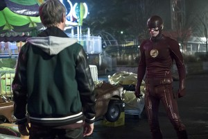 "The Flash -- ""Back to Normal"" -- Image: FLA219b_0077b.jpg -- Pictured Grant Gustin as The Flash -- Photo: Katie Yu/The CW -- © 2016 The CW Network, LLC. All rights reserved."