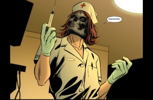 Catwoman 51 Nurse Black Mask