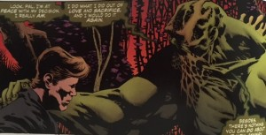 Swamp Thing 4 Cable and Alec