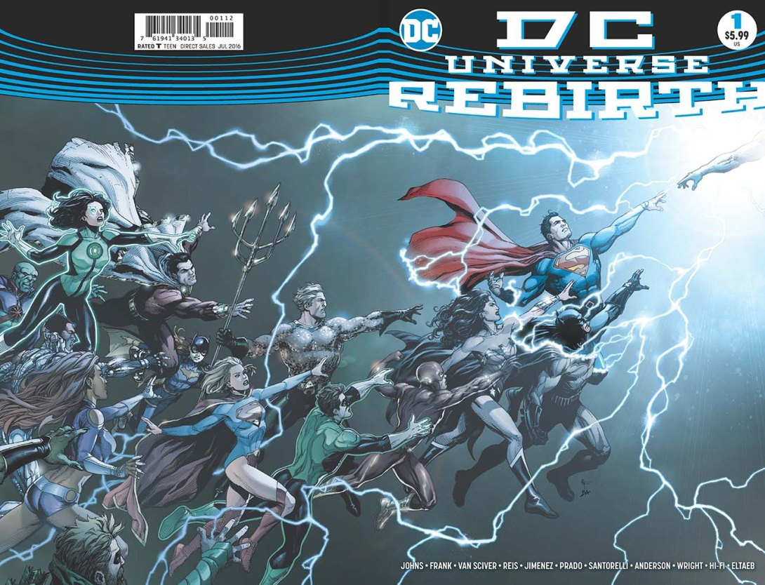 rebirth dc comics news
