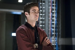 "The Flash -- ""The Race of His Life"" -- Image: FLA223a_0179b.jpg -- Pictured: Grant Gustin as Barry Allen -- Photo: Katie Yu/The CW -- © 2016 The CW Network, LLC. All rights reserved."