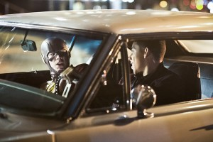 """The Flash -- """"Invincible"""" -- Image: FLA222a_0399b.jpg -- Pictured (L-R): Grant Gustin as The Flash and Keiynan Lonsdale as Wally West -- Photo: Dean Buscher/The CW -- © 2016 The CW Network, LLC. All rights reserved."""