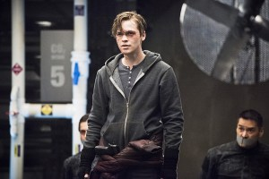 "Arrow -- ""Monument Point"" -- Image AR421a_0024b.jpg -- Pictured: Alexander Calvert as Lonnie Machin/Anarky  -- Photo: Dean Buscher/The CW -- © 2016 The CW Network, LLC. All Rights Reserved."