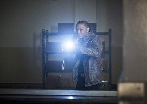 "Arrow -- "" Genesis"" -- Image AR420a_0001b.jpg -- Pictured: David Ramsey as John Diggle -- Photo: Diyah Pera/The CW -- © 2016 The CW Network, LLC. All Rights Reserved."