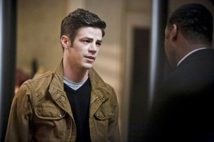 """The Flash -- """"Rupture"""" -- Image: FLA220a_0098b.jpg -- Pictured (L-R): Grant Gustin as Barry Allen and Jesse L. Martin as Detective Joe West -- Photo: Bettina Strauss/The CW -- © 2016 The CW Network, LLC. All rights reserved."""