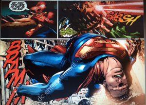 Action Comics 958 Superman laid out