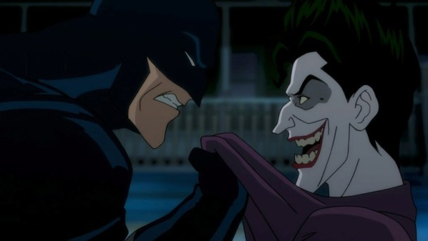 Batman confronts the Joker in 'Batman: The Killing Joke'.