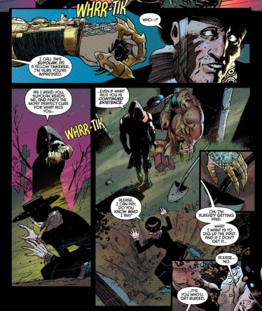 Nightwing 1 Graverobbing 2 w Raptor
