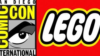 Lego San Diego Comic Con dc comics news