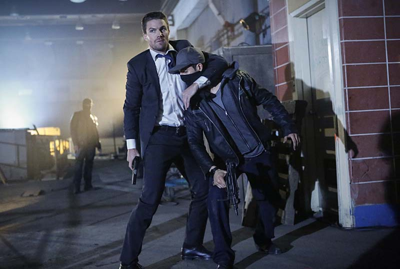 """Arrow -- """"Legacy"""" -- Image AR501c_0007b --- Pictured: Stephen Amell as Oliver Queen -- Photo: Bettina Strauss/The CW -- Ì?å© 2016 The CW Network, LLC. All Rights Reserved."""