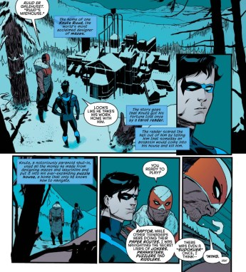 Nightwing 3 nw and raptor
