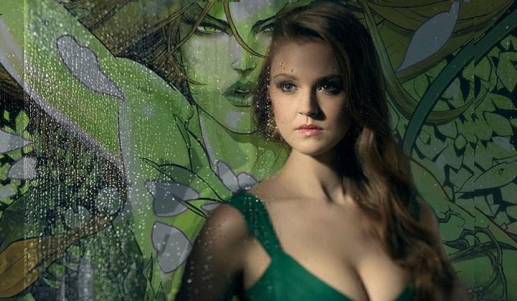 DC Comics News Gotham Poison Ivy Maggie Geha