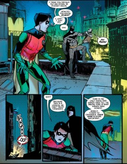 Nightwing 2 flashback
