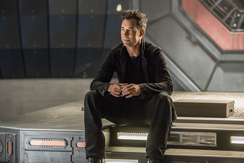 "The Flash -- ""Magenta"" -- Image: FLA303a_0328b.jpg -- Pictured: Tom Cavanagh as Harrison Wells  -- Photo: Dean Buscher/The CW -- © 2016 The CW Network, LLC. All rights reserved."