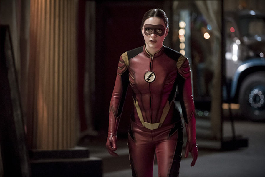 """The Flash -- """"The New Rouges"""" -- Image FLA304b_0235b.jpg -- Pictured: Violett Beane as Jesse Quick -- Photo: Katie Yu/The CW -- © 2016 The CW Network, LLC. All rights reserved."""