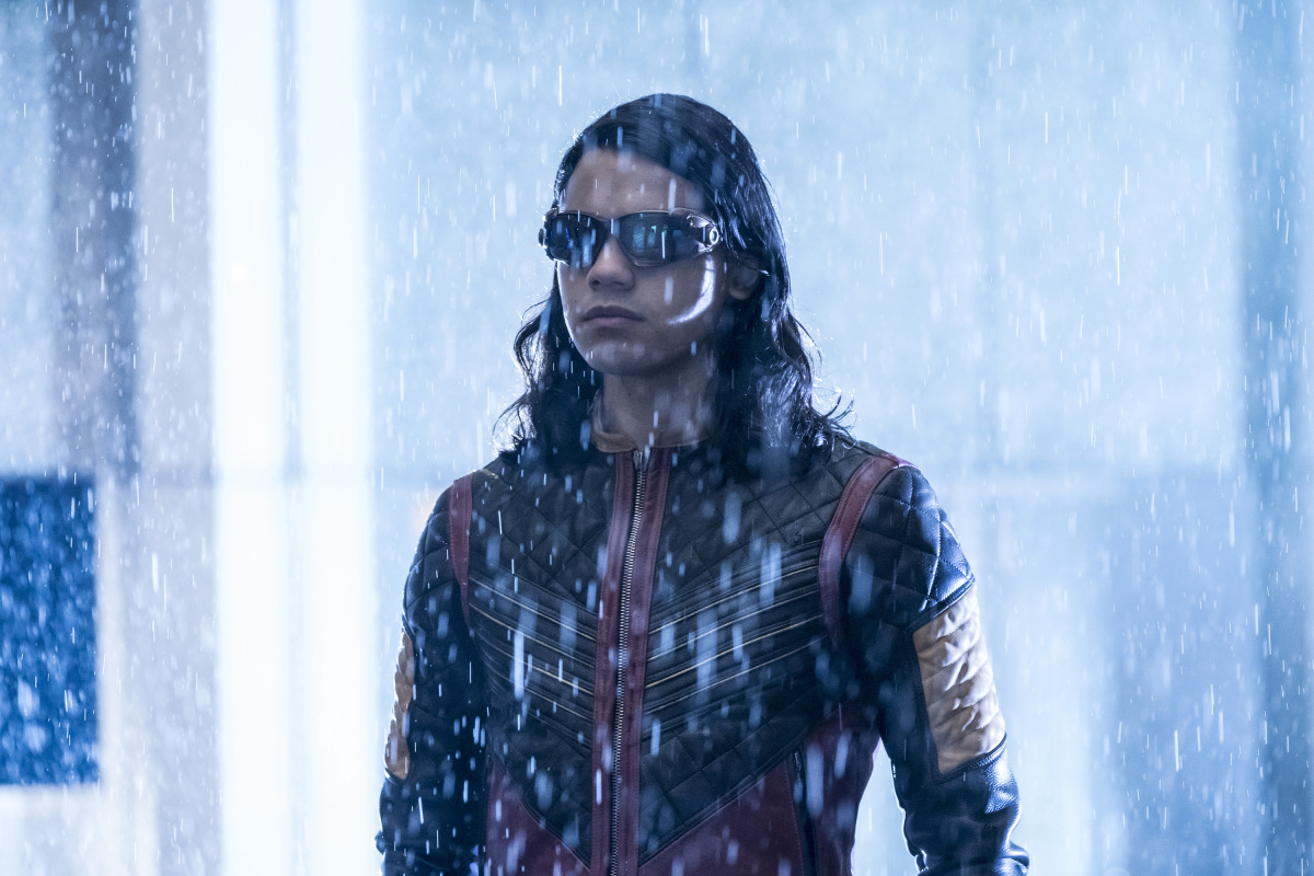 "The Flash -- ""Attack on Central City"" -- FLA314a_0050b.jpg -- Pictured: Carlos Valdes as Cisco Ramon -- Photo: Katie Yu/The CW -- © 2017 The CW Network, LLC. All rights reserved."
