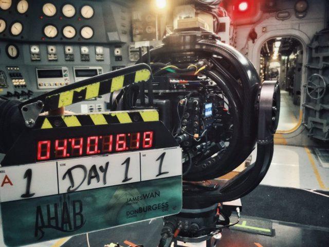 Filming officially begins as 'Aquaman' director James Wan shares set photo