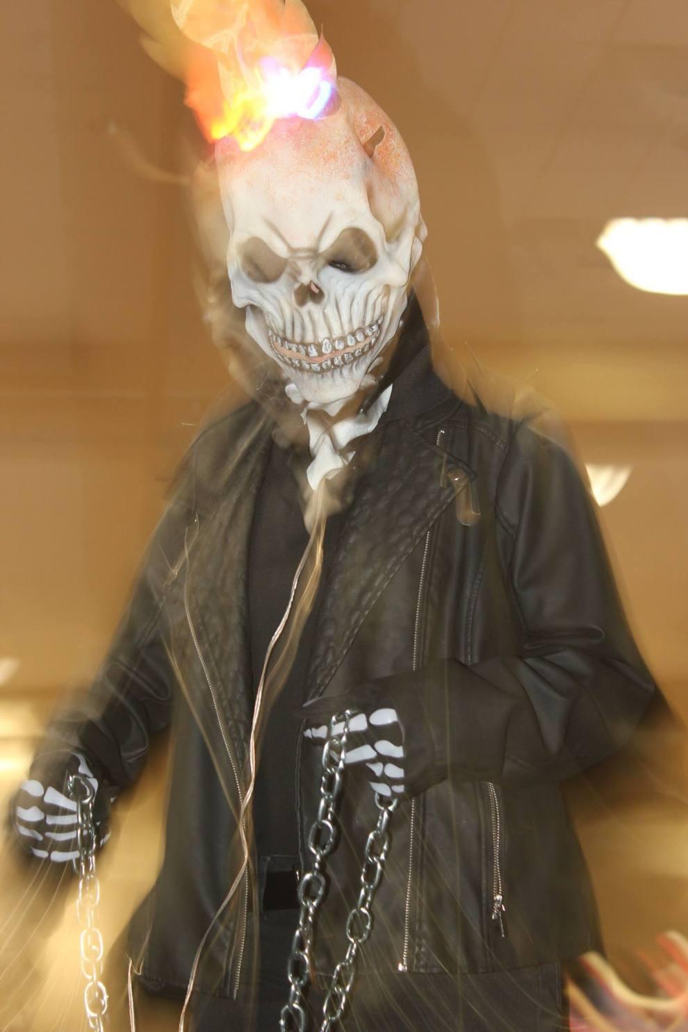 A ghastly Ghost Rider
