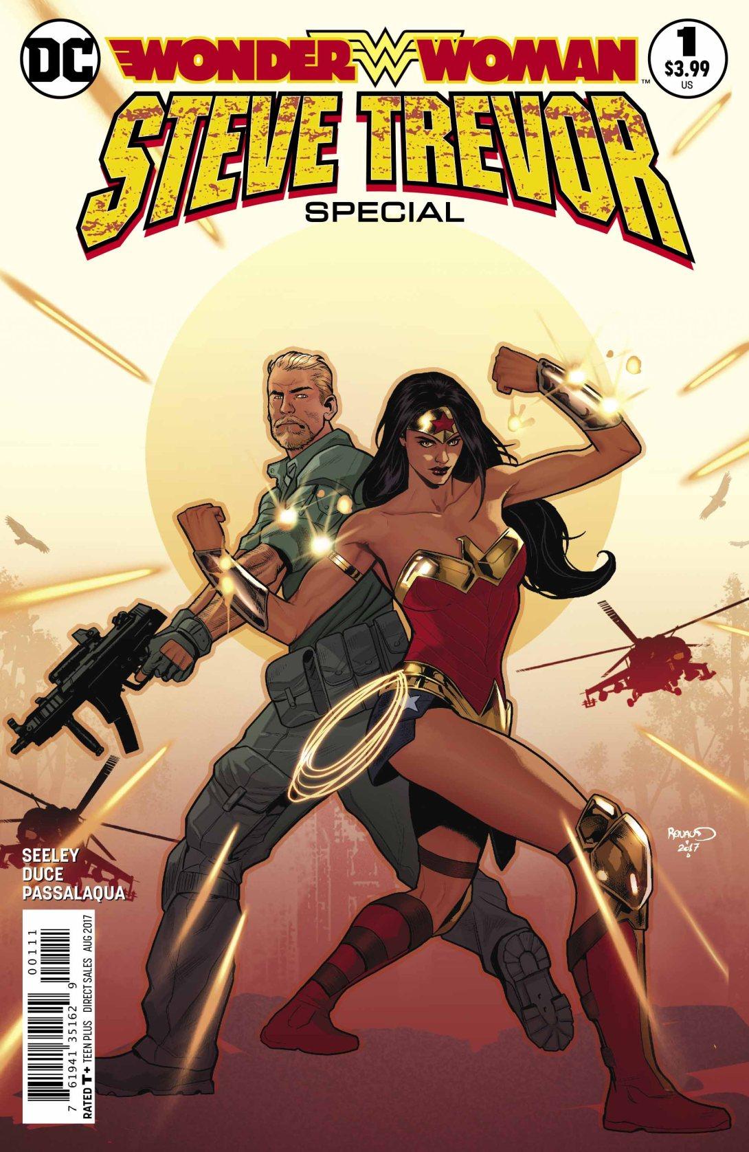 Wonder Woman Steve Trevor Special DC Comics News